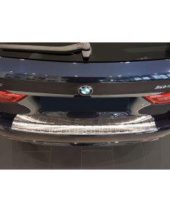 bumperbeschermlijst bumper beschermer bmw 5 serie touring g31 2017, 2018, 2019, 2020 gemonteerd